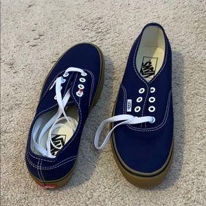 vans authentic platform shoes